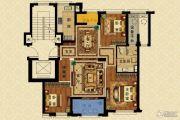 长峙岛・香芸园3室2厅1卫113平方米户型图