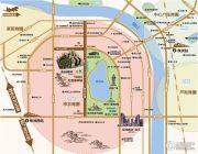 奥园湖畔一号交通图