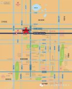 居然之家家具建材博览中心交通图