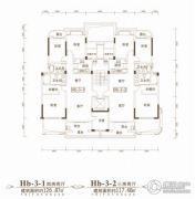 联投金色港湾4室2厅2卫126平方米户型图