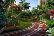 晶地里程花园外景图