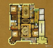 中瓯・金色海岸4室2厅3卫223平方米户型图