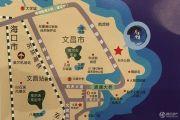 合景月亮湾交通图