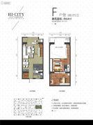 侨建・HI CITY3室2厅2卫94平方米户型图