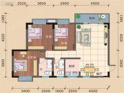 文昌新城3室2厅2卫115平方米户型图