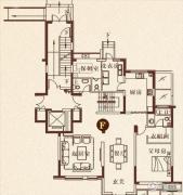 彩虹湖4室2厅4卫284平方米户型图