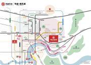 华融现代城交通图