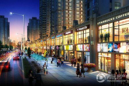 紫晶悦城红街效果图