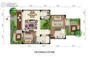 石梅半岛2室2厅2卫82平方米户型图