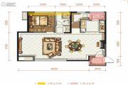 香山长岛4室2厅3卫140平方米户型图