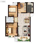 红星国际广场3室2厅1卫96平方米户型图
