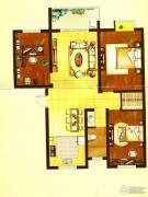 美麟・海韵天城3室2厅1卫102--108平方米户型图