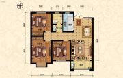 北斗星城・御府Ⅱ期3室2厅1卫111平方米户型图
