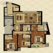 金地棕榈岛3室2厅3卫180平方米户型图