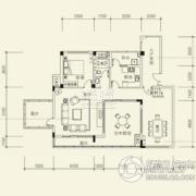 泰然南湖玫瑰湾4室2厅3卫193平方米户型图