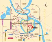 奥园誉山湖交通图