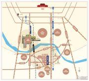 森林新都孔雀城交通图