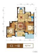 滨江西溪之星0室0厅0卫77平方米户型图
