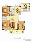 苏建花园城3室2厅1卫147平方米户型图