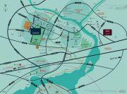 中海世茂府交通图