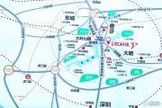 中惠松湖城交通图