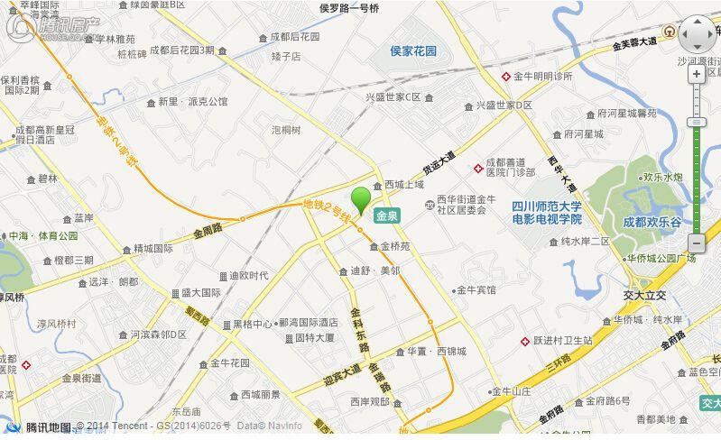 项目电子交通地图