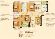 华廷四季城4室2厅2卫124平方米户型图