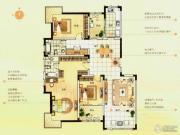 白金瀚宫3室2厅2卫0平方米户型图
