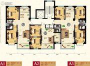 天健凤凰城2室2厅1卫95平方米户型图