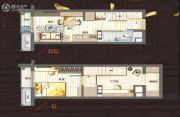 万科城市之光0室0厅0卫25平方米户型图