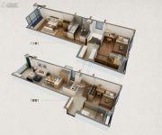 万科春风十里3室2厅2卫99平方米户型图