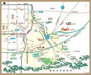 汤峪温泉谷交通图
