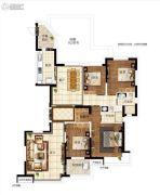 恒大江湾4室2厅2卫186平方米户型图