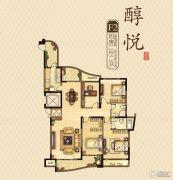 永隆城市广场4室2厅2卫169平方米户型图