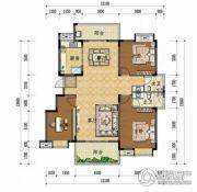 上上城・壹号院3室2厅2卫136平方米户型图