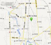 金果园小区交通图