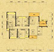 佳兆业东江新城5室2厅2卫162平方米户型图