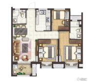 凤鸣美谷3室2厅2卫0平方米户型图