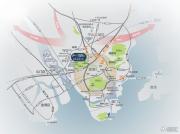 时代南湾北岸交通图