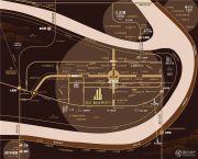 恒大解放碑中心交通图