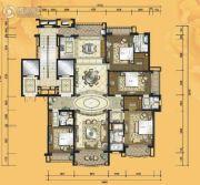 铂雅苑4室2厅4卫285平方米户型图