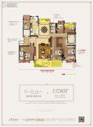 碧桂园翡翠华府6室2厅3卫260平方米户型图