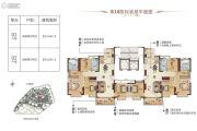 肇庆恒大鼎湖豪庭168平方米户型图