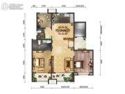 绿地・海珀天沅2室2厅2卫140平方米户型图