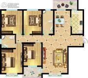 东方明珠4室2厅2卫171平方米户型图