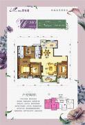 柳江碧桂园3室2厅2卫115平方米户型图
