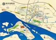 恒大悦珑湾交通图