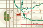 蓝天・世贸中心交通图