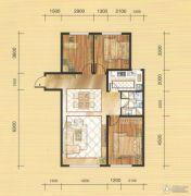 国茂清华园3室2厅1卫112平方米户型图