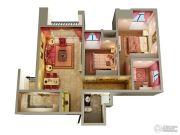 融汇半岛玫瑰公馆3室2厅1卫0平方米户型图